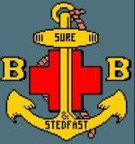 boys brigade badge cross stitch kit no frames