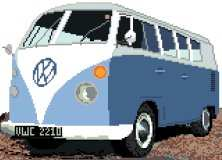 VW Camper Van (Split Windscreen)